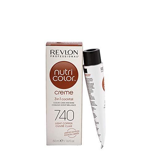 Revlon Nutri Color Creme 740 Rame chiaro 50ml - maschera colore