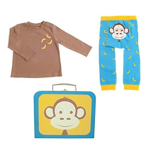Stripey Cats vêtements pour bébé cadeau valise, leggings,...
