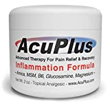 AcuPlus Pain Relief Cream - Advanced Therapy for Relief and Recovery from Bursitis, Tendonitis, Joint Pain, Arthritis Pain, and Muscle Pain - Back Pain Relief (2 Ounces)