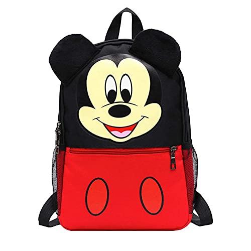 Mochila Infantil 3D, Estuche Escolar y Bolsa Merienda de Cuerdas Mouse,Mochilas Escolares para Niños y Niñas de 3 Años ,Material Escolar Vuelta al Cole de Mouse