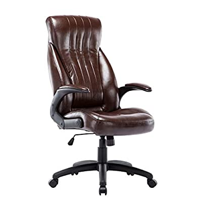 Calgary Office Chair Vintage Brown PU