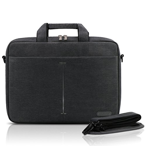 Arvok 13 13,3 14 Pulgadas Funda protectora para portatil Notebook Resistente al agua Lona MacBook MacBook Air / MacBook Pro Retina / de la manga de la cartera / Maletín para portátil / HP / Dell / Samsung / Toshiba / Sony / Acer / ASUS / Lenovo Funda para portátiles (13.3-Pulgadas, Gris)