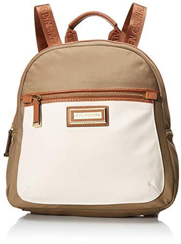 Calvin Klein Belfast Nylon Key Item Backpack, Neutral Combo