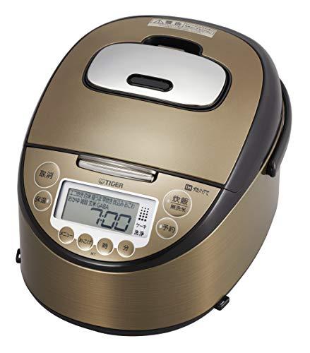 タイガー魔法瓶(TIGER) 炊飯器 5.5合 IH 炊き分けメニュー10種搭載 炊きたて JKT-P100-TK ダークブラウン