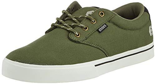 Etnies Jameson 2 Eco, Zapatillas de Skateboard para Hombre, Verde (Olive/Black 302), EU 37