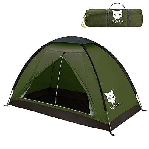 Night Cat Tente de Camping pour 1 Personne Homme...