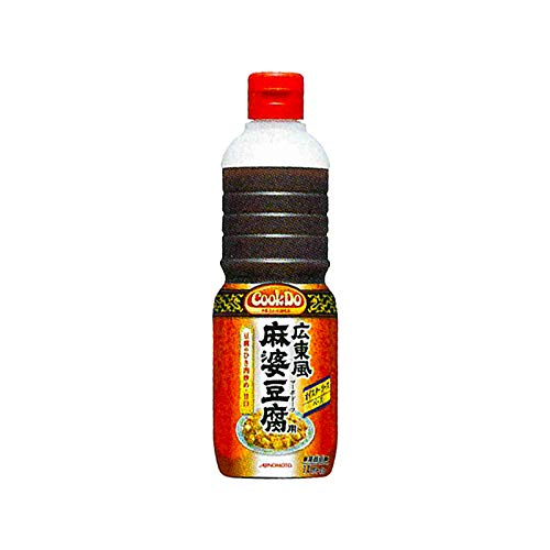 「Cook DoR」広東風麻婆豆腐用 1Lボトル×6