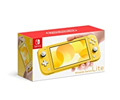 Handheld Nintendo Switch gaming at a great price For every member of your family, there's a member of ours Optimized for personal, handheld play, Nintendo Switch Lite is a small and light Nintendo Switch system Features a sleek, unibody design with f...