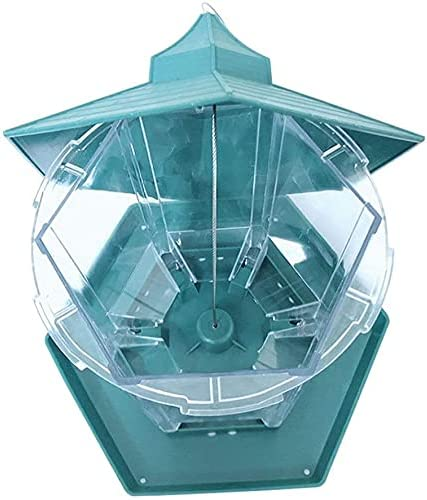 Bird Feeders for Outside Plastic Our shop most popular Garden Transparent Feed Los Angeles Mall Outdoor