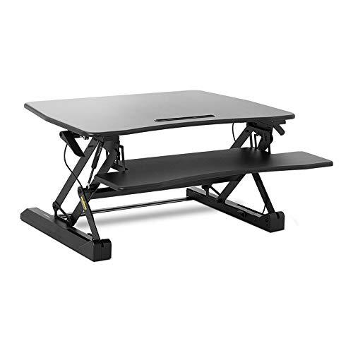 Fromm & Starck Rialzo per Scrivania Standing Desk Supporto per PC Regolabile STAR_SSD_02 (16,5-41,5 cm, Regolazione continua)