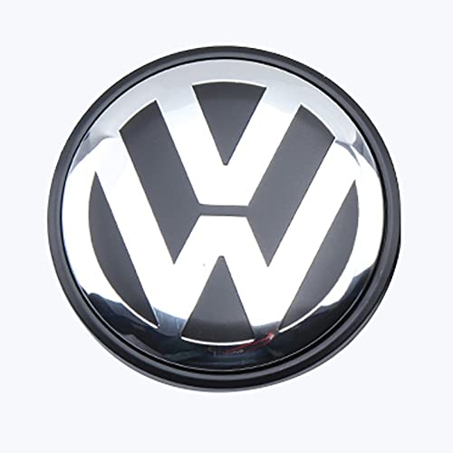 UOPW 4 x Centro de Ruedas Universal Centro de aleación Cubierta Central Compatible con el número de Parte de Volkswagen