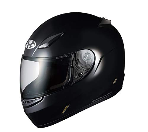 オージーケーカブト(OGK KABUTO)バイクヘルメット フルフェイス FF-R3 ブラックメタリック XL (頭囲 61cm~62cm未満)