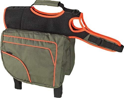 Karlie Flamingo 16312 Multifunctions- Satteltasche Größe L, grün / orange