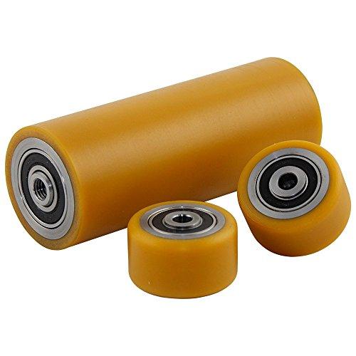 Polyurethan Laufräder Satz Ø 40mm geeignet für Aluminium Rangierwagenheber