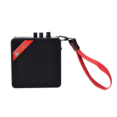 YanYun 5W 9V Batteriebetriebene Verstaerker Haus-Audio-Verstaerker-Lautsprecher Fuer Akustische/Elektrische Gitarren-Ukulele Hoch-Sensitivity-Lautsprecher