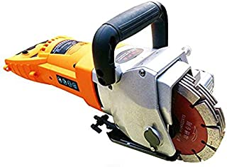 Huanyu Instrument 5200W 220V Electric Brick Wall Chaser Concrete Cutter & Notcher Floor Wall Groove Cutting Machine