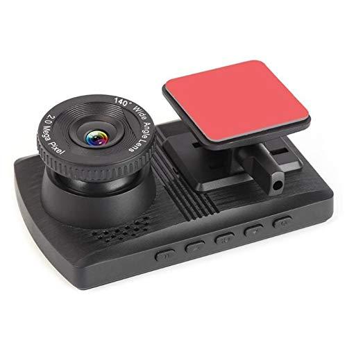 3.5 Pulgadas De Pantalla Vertical 1080P HD Auto Car DVR Dashcam 140 Grados De Visión Nocturna G-Sensor Video Registrator Dvrs Camera JBCZXJ (Color : 16G)