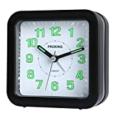 Best Travel Alarm Clocks - PROKING Analog Alarm Clock,Travel Silent Non Ticking Easy Review