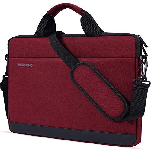Laptoptasche für Asus VivoBook F510UA, 39,6 cm (15,6 Zoll), Acer Predator Helios 300 / Acer Aspire E 15 / Acer Chromebook 15, Lenovo Yoga, HP Dell MSI LG, 39,6 cm (15,6 Zoll), Weinrot