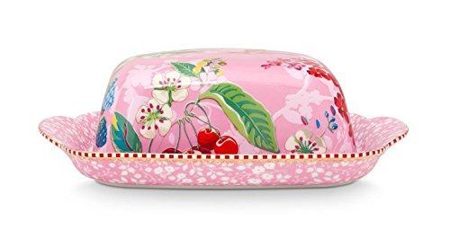 Butterdose aus Porzellan Hummingbird in pink von PIP STUDIO 51.018.066