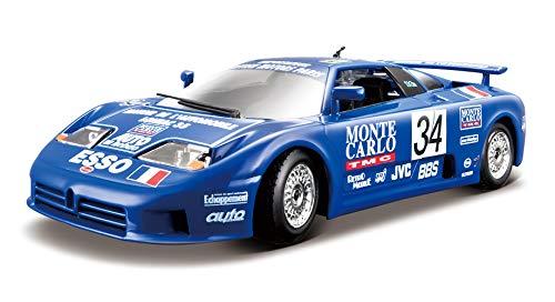 Tobar Voiture Miniature Bugatti EB110 La Mini Mineria échelle 1/24