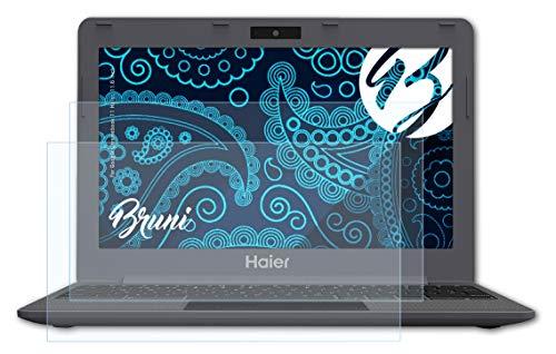 Bruni Schutzfolie kompatibel mit Google Chromebook 11 Haier, 11.6 Inch Folie, glasklare Bildschirmschutzfolie (2X)