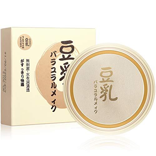 Fovely Polvo prensado Duradero, Polvo Facial prensado Mate Control de Aceite Matte Conceal Hidratante Base de Maquillaje en Polvo Profesional de Larga duración