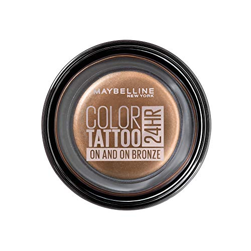 Maybelline New York Tattoo 24H Sombra de Ojos, Tono: nº35 On and...