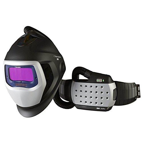 SPEEDGLAS 9100 AIR Schweißmaske Schweißhelm mit ADFLO Atemschutzsystem, Größe:54 x 107 mm