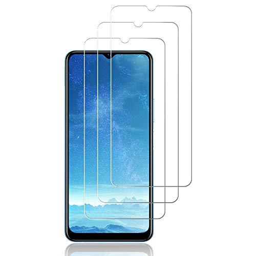 J&D - Pellicola protettiva per schermo in vetro per Vivo Y20s, confezione da 3 pezzi, copertura non completa, in vetro temperato HD, trasparente balistico, per Vivo Y20s