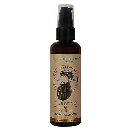 EARTH THERAPY natures concept Beard Oil for Beards and Moustache Nourishment, 100 ml