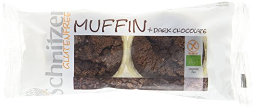 Schnitzer glutenfree Bio Muffin + Dark Chocolate, 6er Pack (6 x 140 g)