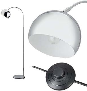 Home Curva Lampadaire Chrome