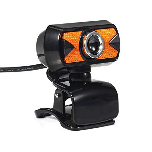 AnamSafdarButt59 HD-Streaming-Webcam-Mikrofon Breitbild-USB-Computerkamera Dynamische Auflösung für Desktop-Notebook-Videoanruf