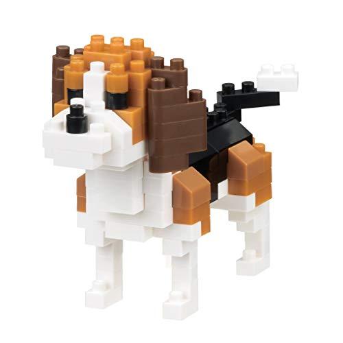 nanoblock NBC253 nanoblock-NBC-253-Dog Breed Beagle Toy, Mul