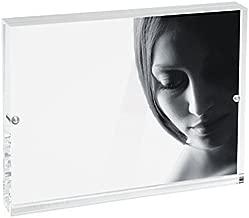 Mascagni Cornice 20x25 in Plexiglass chiusura magnetica, trasparente, acrilico