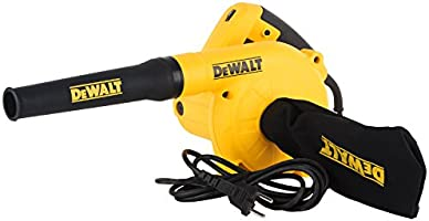 Dewalt, 800W Variable Speed electric Blower 16000RPM, Blow and Suction with Collection Bag for Car, Home, Garden,...