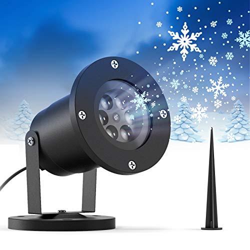 Ltteny Christmas Snowflake Projector Lights