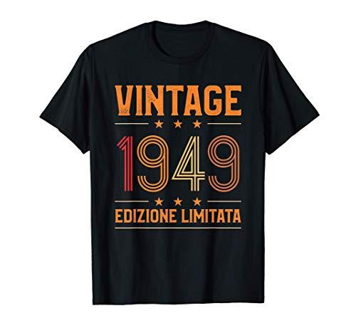 Vintage 1949 Regalo 71 anni compleanno Maglietta
