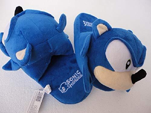 XIFA Sonic Super Mario Fashion Plüsch Schuhe Cartoon Plüsch gefüllte Hausschuhe Winter warme Slides Puppen...