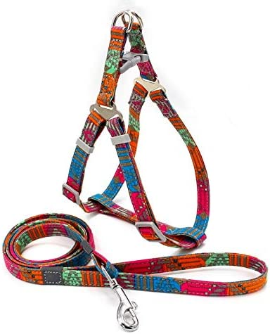 Dog Harness Leash Set Oklahoma City Mall Bohemian Breathable Puppy Ves Style Free Shipping Cheap Bargain Gift Cotton