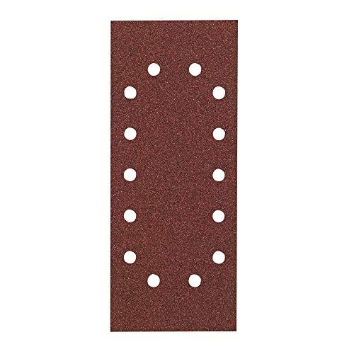 Hitachi–753074Schleifpapier Blatt für Schwingschleifer 115x 280mm Korn 100Wechselrahmen (10)