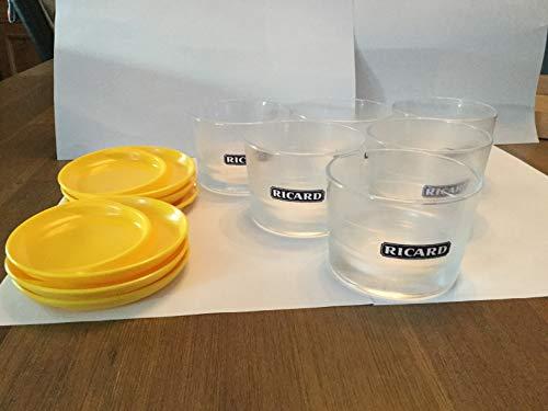 Ricard Rare Tapasglas, 6 Stück