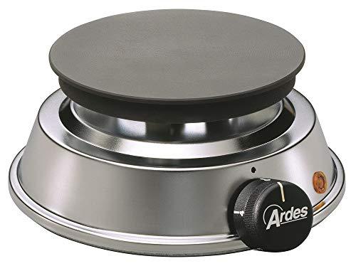 Ardes AR051EXP Brasero elektrische Kochplatte 1000 W Noir, Acier inoxydable