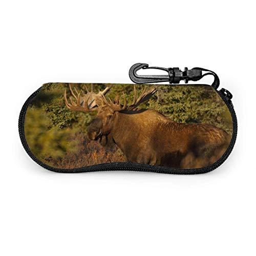 Orignal National Geographic lunettes de soleil avec boucle de verrouillage sac souple ultra léger tissu de plongée fermeture éclair étui à lunettes
