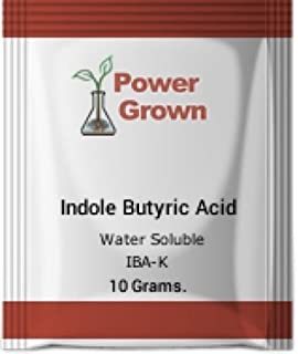 Indole butyric Acid 99.4% 10 Grams. Water Soluble with Instructions Authentic Made in America by Power Grown