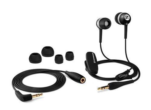 Sennheiser CX 400 Ohrhörer geeignet für Apple iPod schwarz