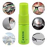 hinffinity Antibeschlag-Spray für Brillen, Schwimmen, Paintball und Tauchzubehör, Schwamm für...