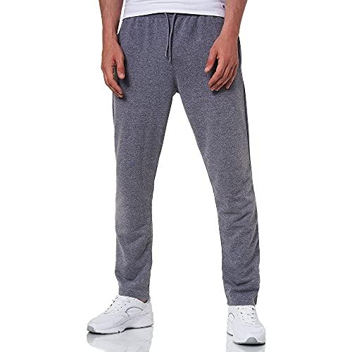 Smith & Solo Pantalones de chándal para hombre – Pantalones de chándal modernos | Algodón Joven Slim Fit | Pantalones de deporte – Entrenamiento – Pantalones de entrenamiento, Dark Grey Straight, XXXL