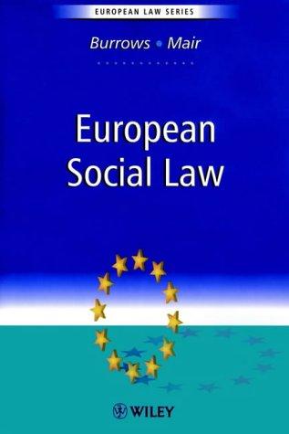 European Social Law PDF Books